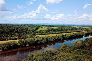 Lots for sale on the James River near Scottsville in Buckingham County